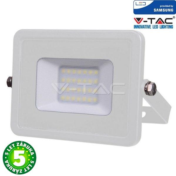 Prémiový ultratenký LED reflektor 20W 1600lm SAMSUNG čipy bílý, studená