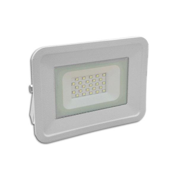Ultratenký LED reflektor bílý   20W 1700lm, studená