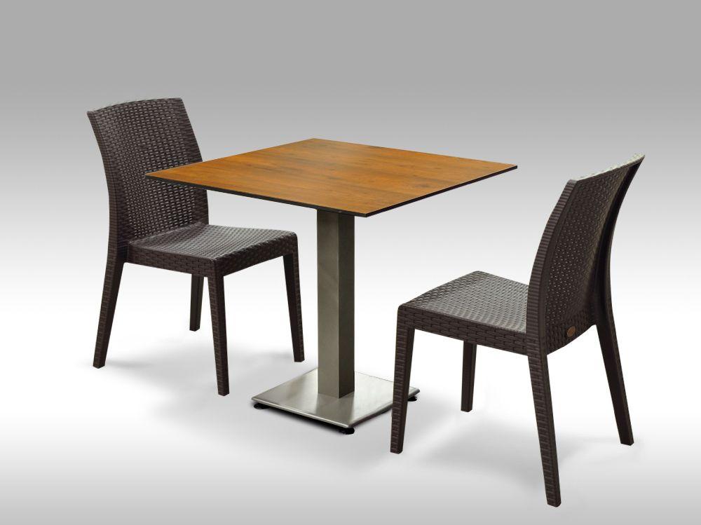 Jídelní sestava Almeria + 2 židle Benidorm