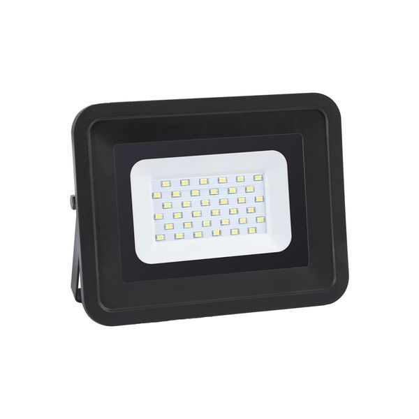 Ultratenký LED reflektor černý   50W 4250lm, studená