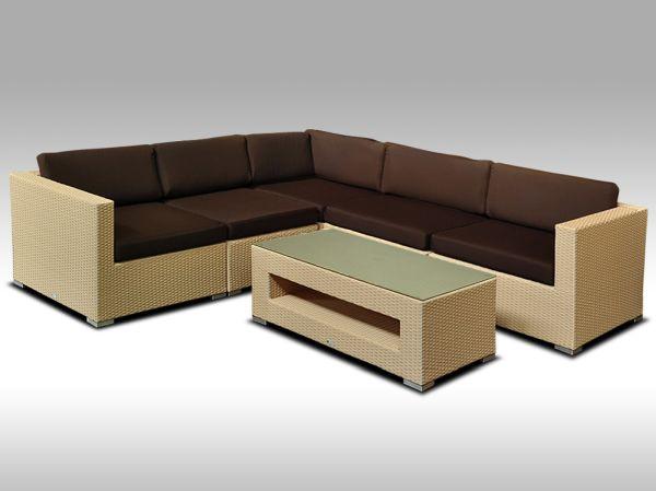 Luxusní rohová sedací souprava ALLEGRA 13 písková 4 osoby + DÁREK